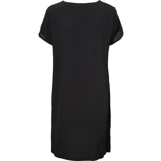 OMIA DRESS, BLACK, hi-res