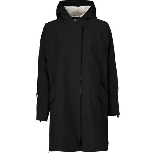 THYRANA COAT, Black, hi-res