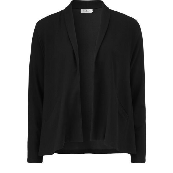 IADA CARDIGAN, BLACK, hi-res