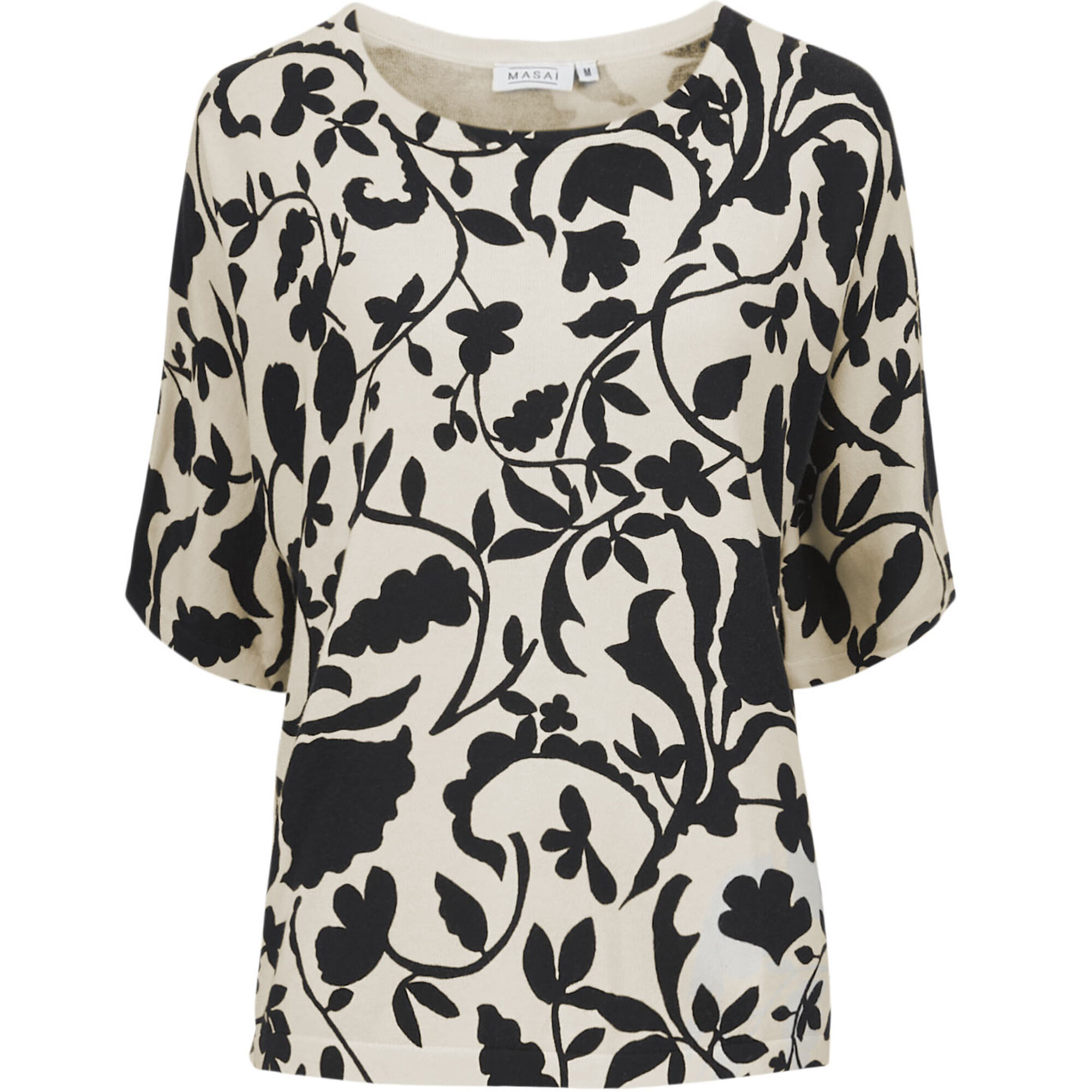 FENELLA TOP, Black, hi-res