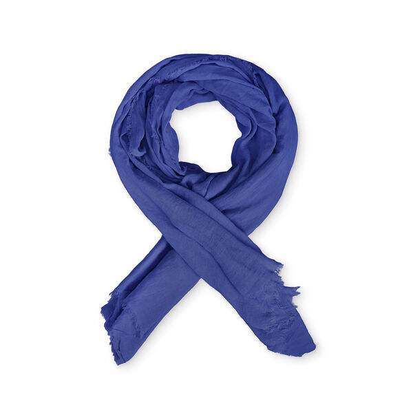 AVA SCARF, GREEK BLUE, hi-res
