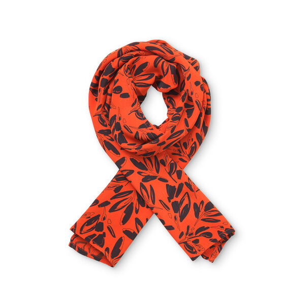 ALONG SCARF, Pumpkin, hi-res