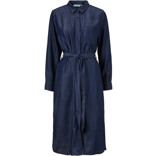 NOOR SHIRT DRESS, Dark Denim, hi-res