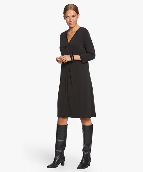 NIBI DRESS, Black, hi-res