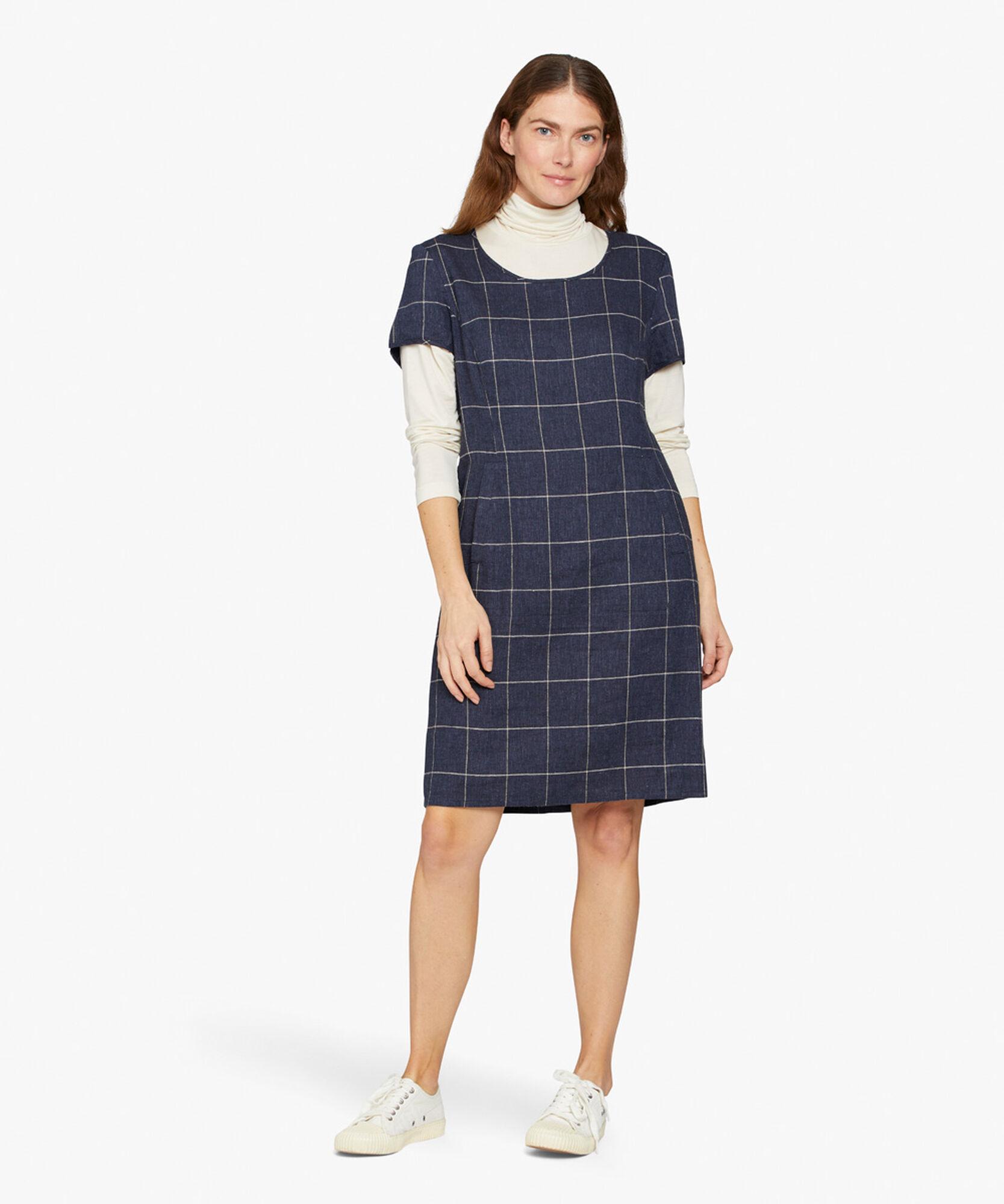 NABLA DRESS, Navy, hi-res
