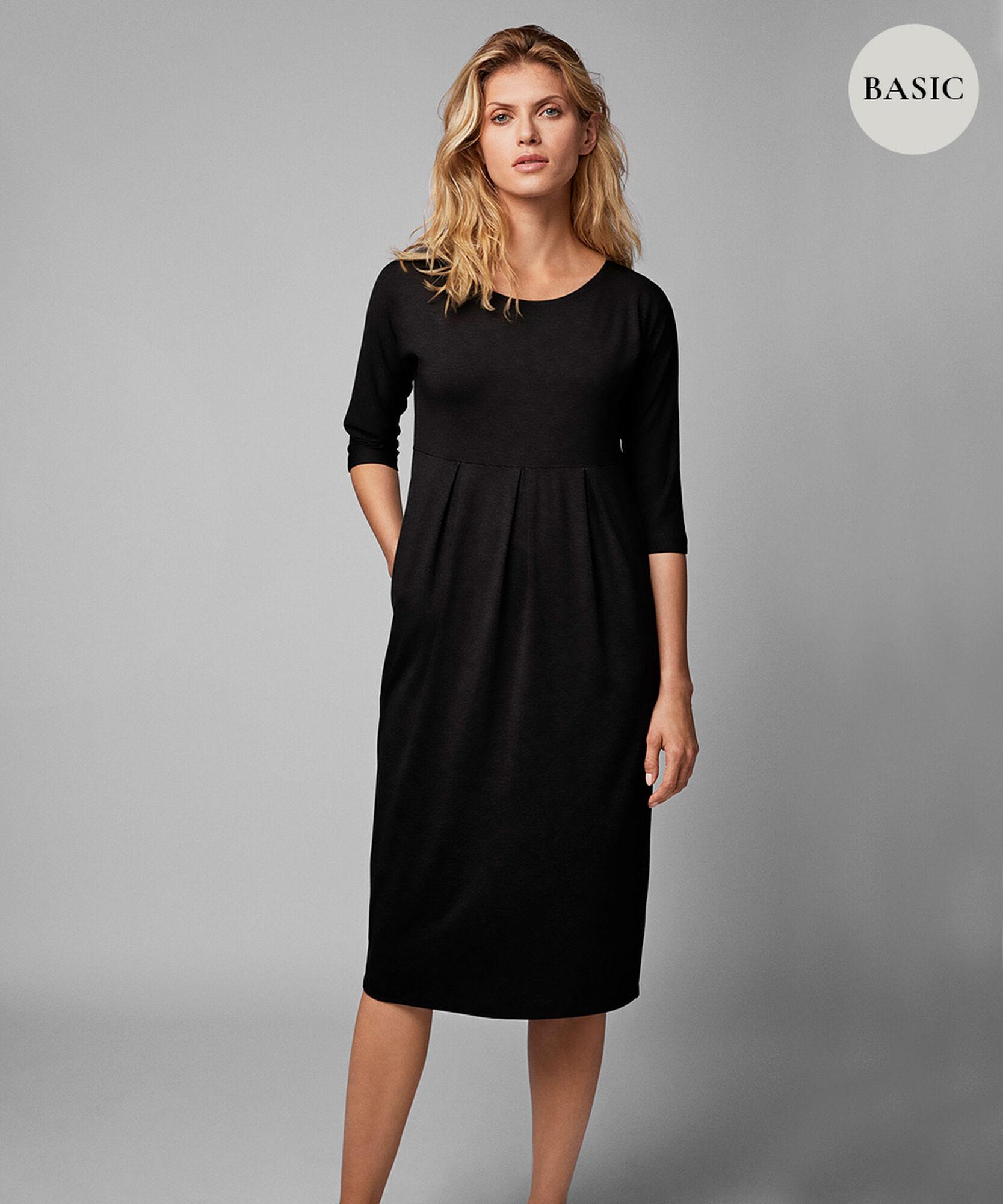 NOMA DRESS, Black, hi-res