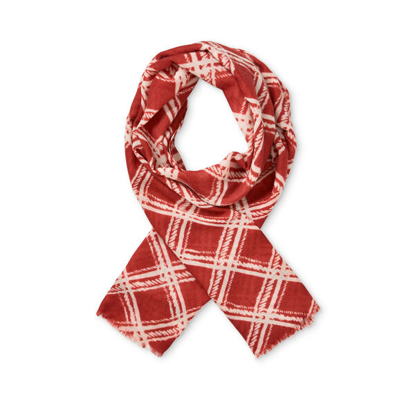 AIMEE SCARF, RED OCHRE, hi-res