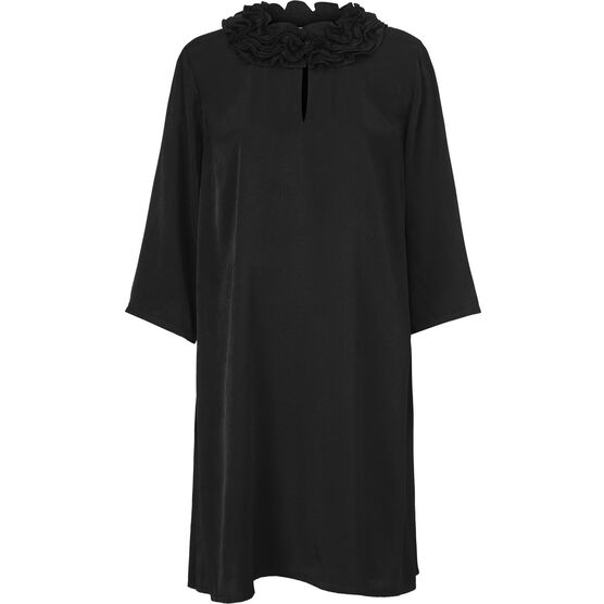 GLENSI DRESS, BLACK, hi-res