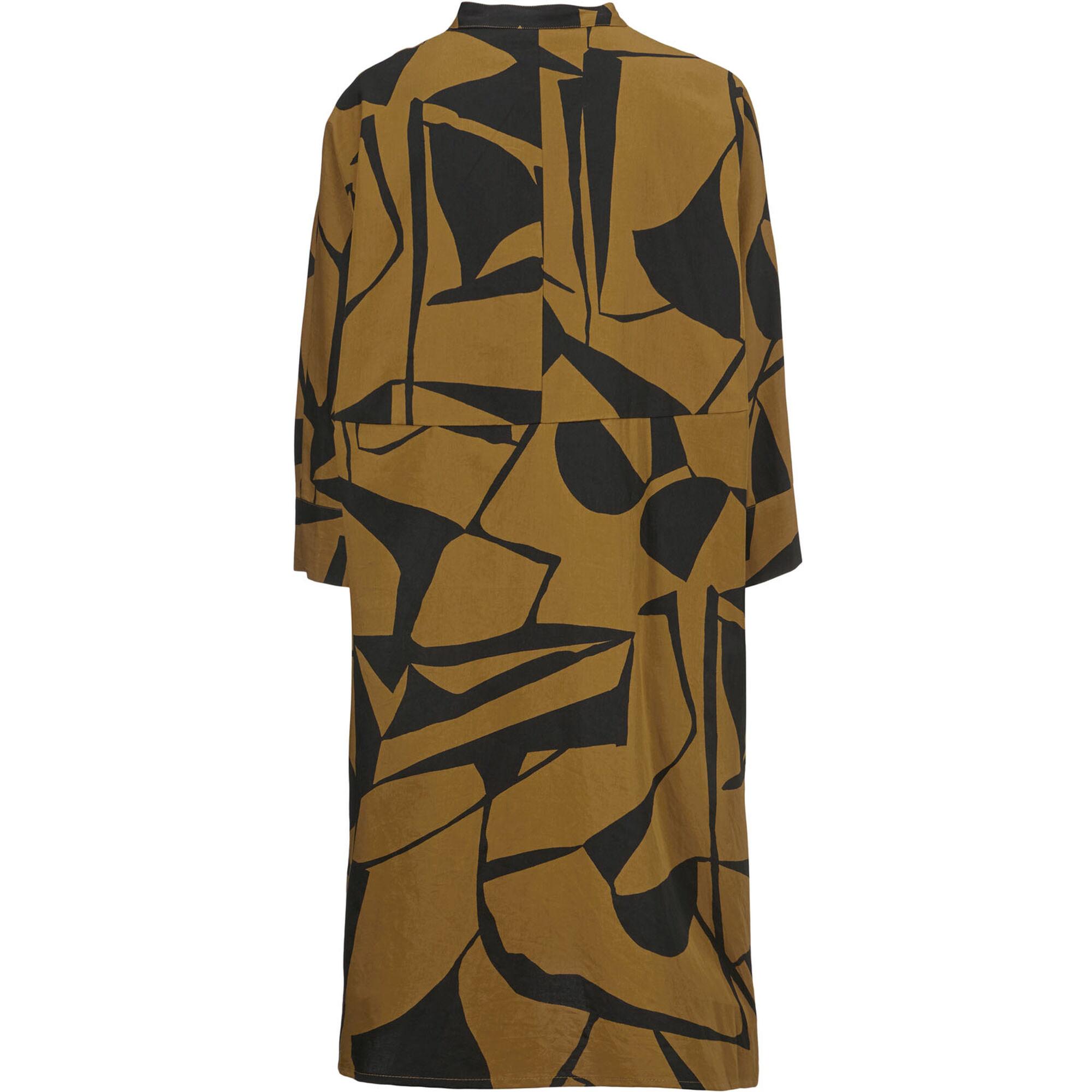 IOSETTA  SHIRT DRESS, Tapenade, hi-res