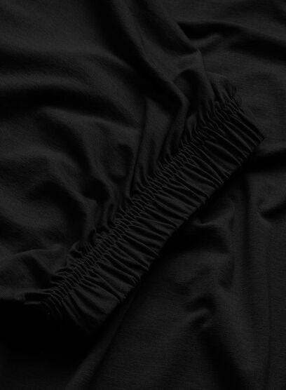 DELIA TOP, BLACK, hi-res