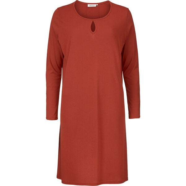 GLOW TUNIC, RED OCHRE, hi-res