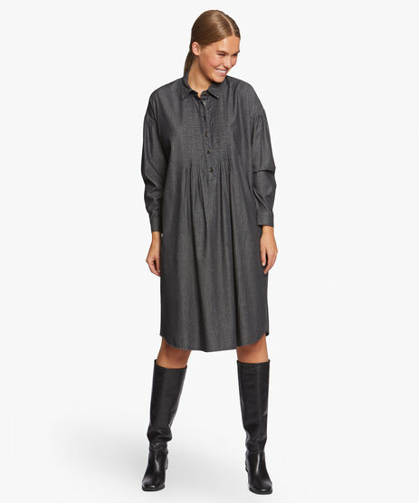 NIKKI DRESS, Black, hi-res