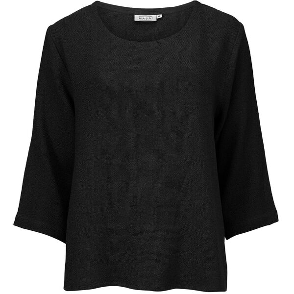 BANUNI TOP, BLACK, hi-res