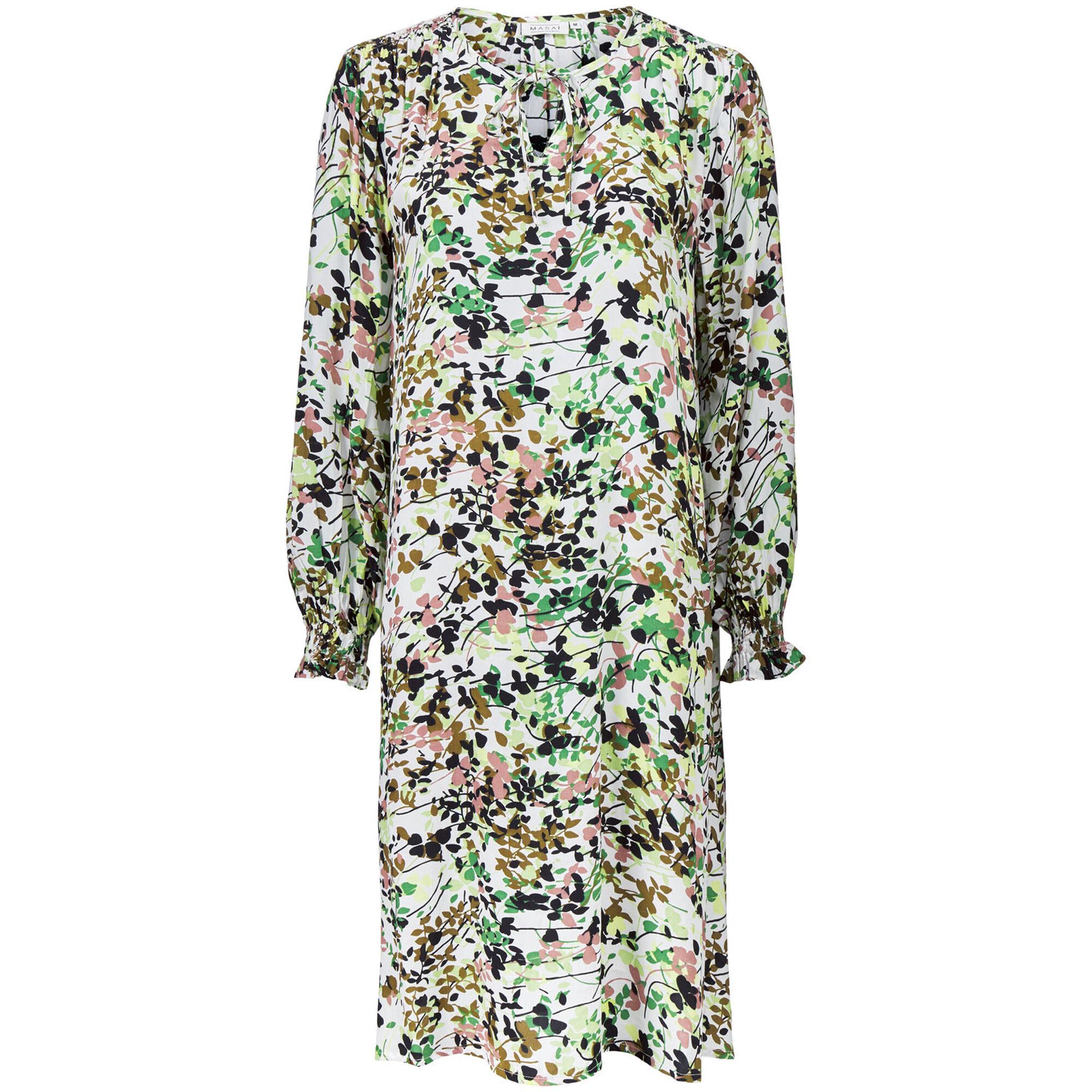 NOTILA DRESS, Bottle Green, hi-res
