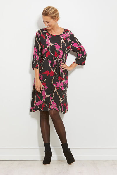 NONIE DRESS, PINK, hi-res