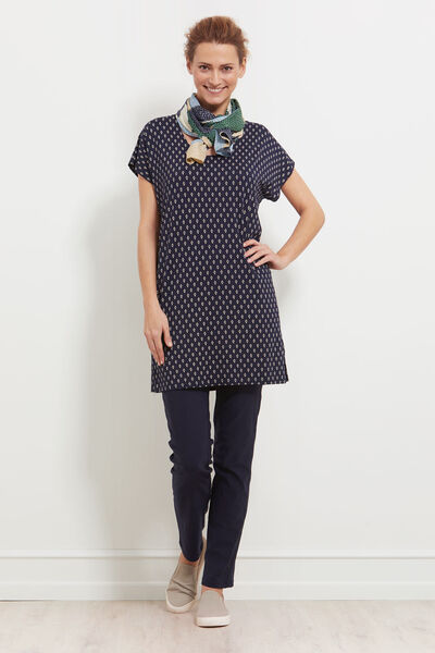 GERDI TUNIC, NAVY, hi-res